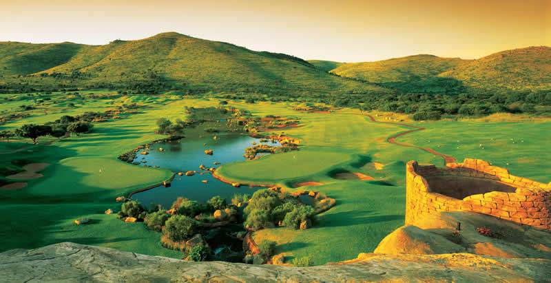 The Lost City Golf Course features on the 5 Day Golfing Gauteng and Sun City Tour.