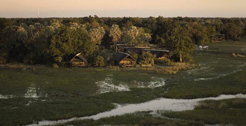 Eagle Island is one of the romantic lodges included in the 10 Day Vic Falls and Botswana Honeymoon.