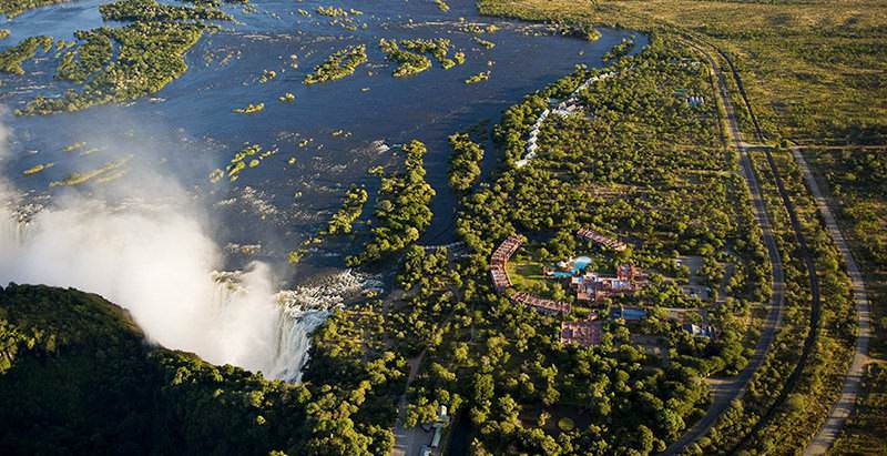 The Royal Livingstone offers unforgettable riverfront accommodation during the 18 Day Three Countries and Cape Town safari.