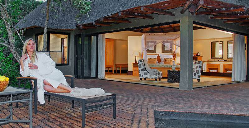 Tsala Treetop Lodge is one of two exclusive properties included in the 7 Day Garden Route and Safari Tour.