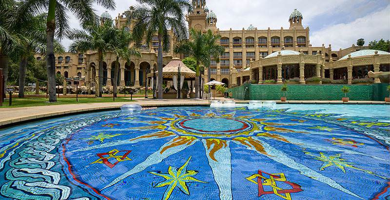The Palace of the Lost City is one of the exclusive properties included in the 14 Day Five Star Family Tour.