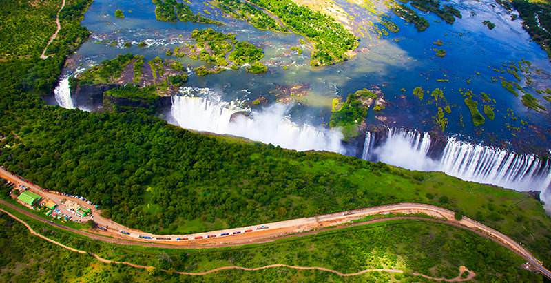 The Victoria Falls is one of the main destinations featured in the 10 Day Cape, Kruger and Victoria Falls Tour.