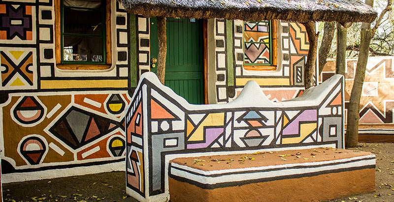 The Lesedi Cultural Village features on the 1 Day Lesedi Cultural Village and Lion Park Tour.