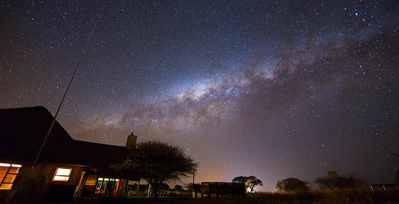 The starry expanse of the Milky Way above Sutherland on the 10 Day South African Stargazing Tour.