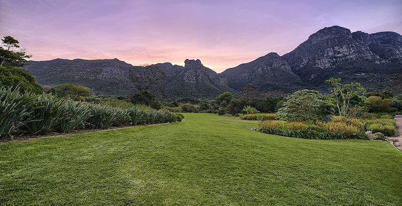 The Kirstenbosch Botanical Gardens are included in the 8 Day Southern Cape Trail vacation.