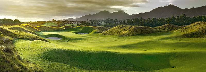 The verdant majesty of the Fancourt Links Golf Course in the Garden Route.