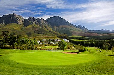 The immaculate Erinvale Golf Course in the Boland.