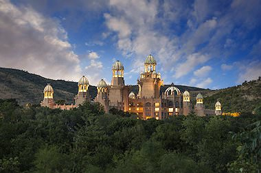 The Palace of the Lost City at Sun City.