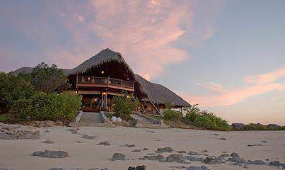 Medjumbe Island Lodge is one of the finest accomodations for a beach vacation package.